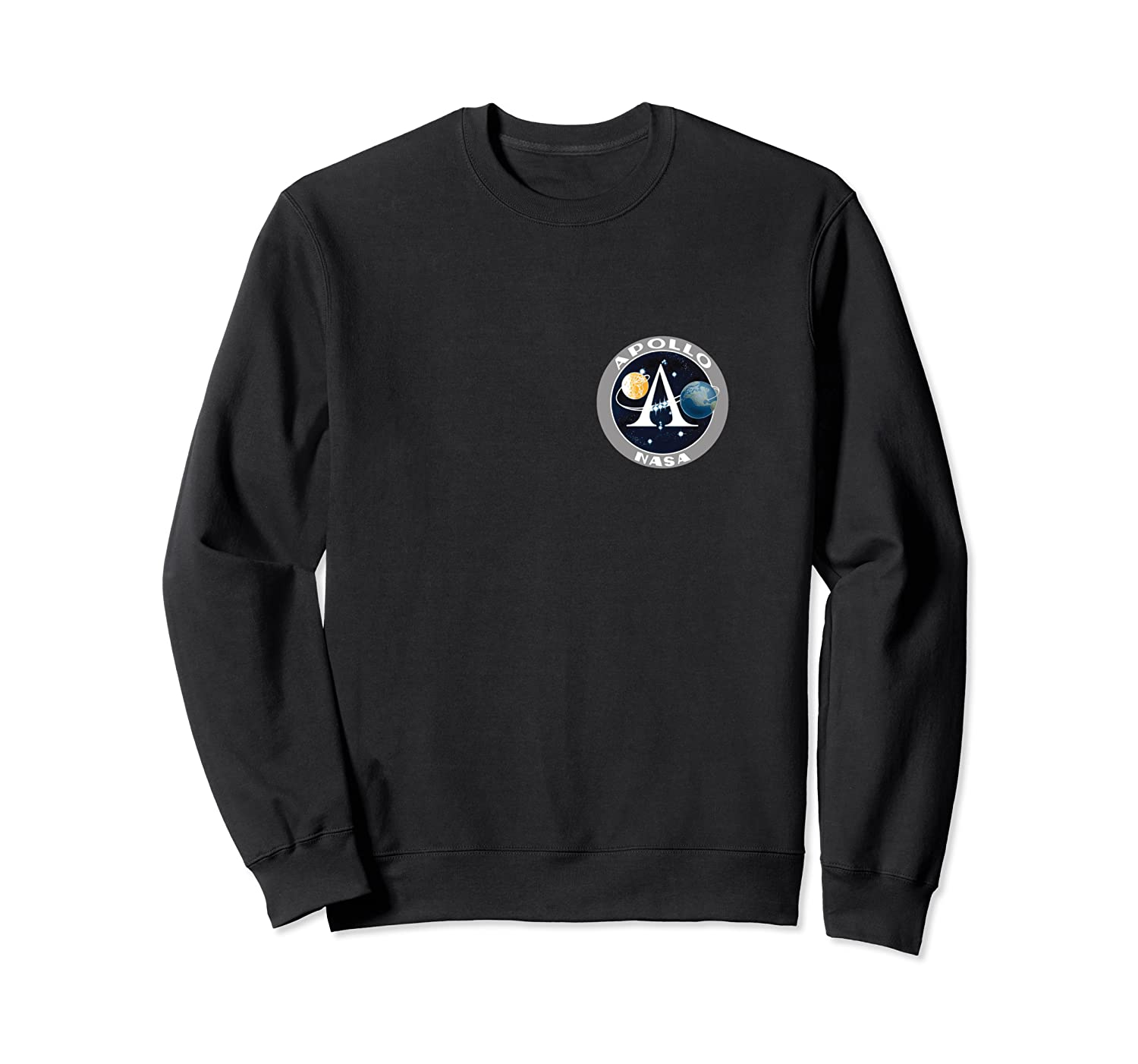 Apollo 11 Space Moon Landing Mission Patch Shirts Crewneck Sweater