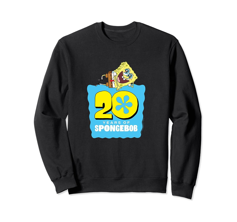 Spongebob Squarepants 20 Years Of Spongebob T-shirt Crewneck Sweater