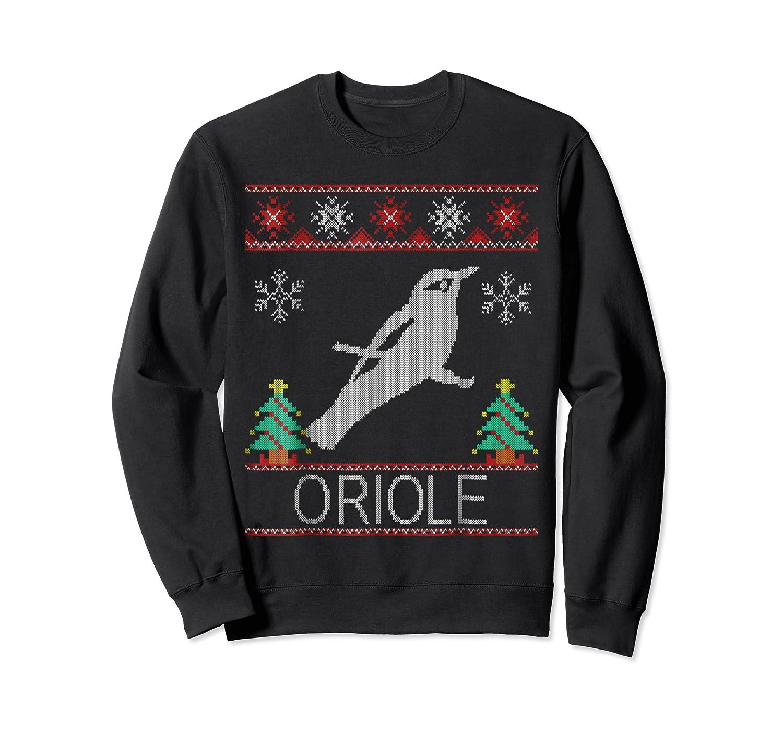 Oriole Christmas Shirts Crewneck Sweater