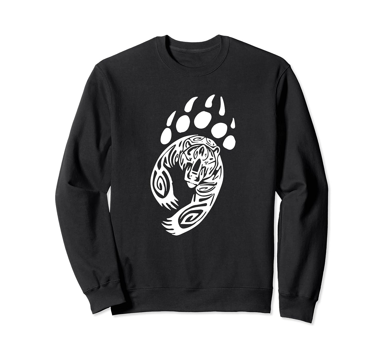 Bear Paw Grizzly Black Papa Momma Shirts