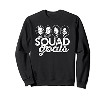 881ff2ebf8f1 Image Unavailable. Image not available for. Color  SQUAD GOALS Sweatshirt  Supreme Court Justices ...
