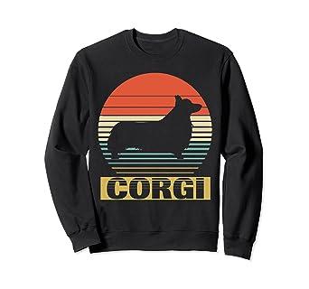 Amazon Vintage Sweatshirt For Corgi Dog Lover Funny Birthday