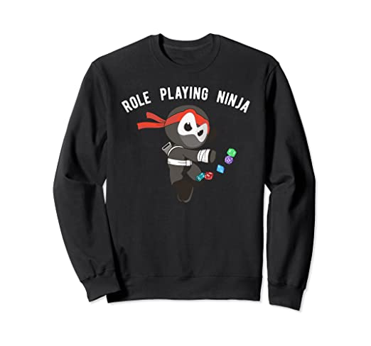 Amazon.com: Role Playing Ninja Sweatshirt, Martial Arts ...