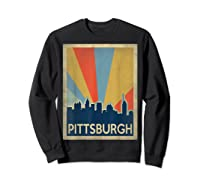 Classic Pittsburgh Shirts Sweatshirt Black