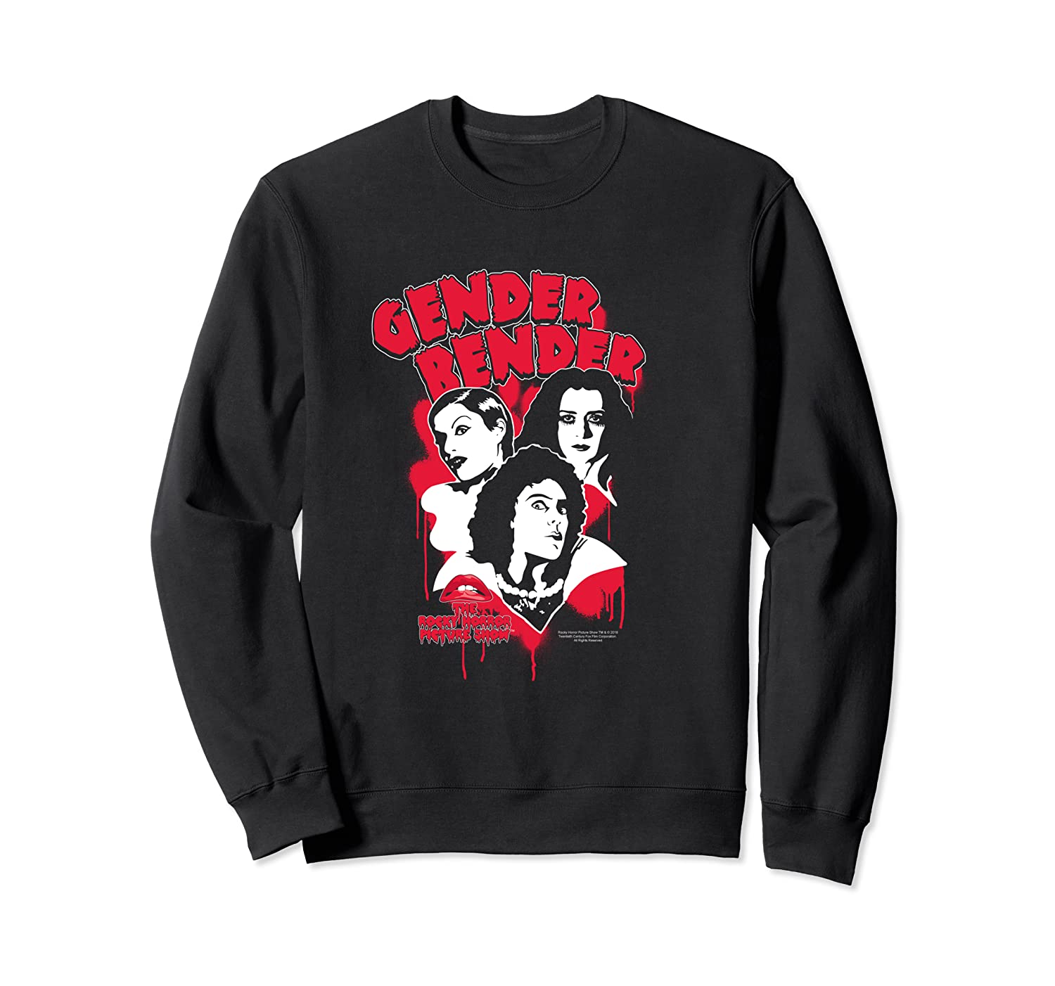 Rocky Horror Picture Show Gender Bender Shirts Crewneck Sweater
