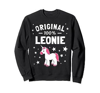 Amazon com: Leonie Name Gift Sweatshirt: Clothing