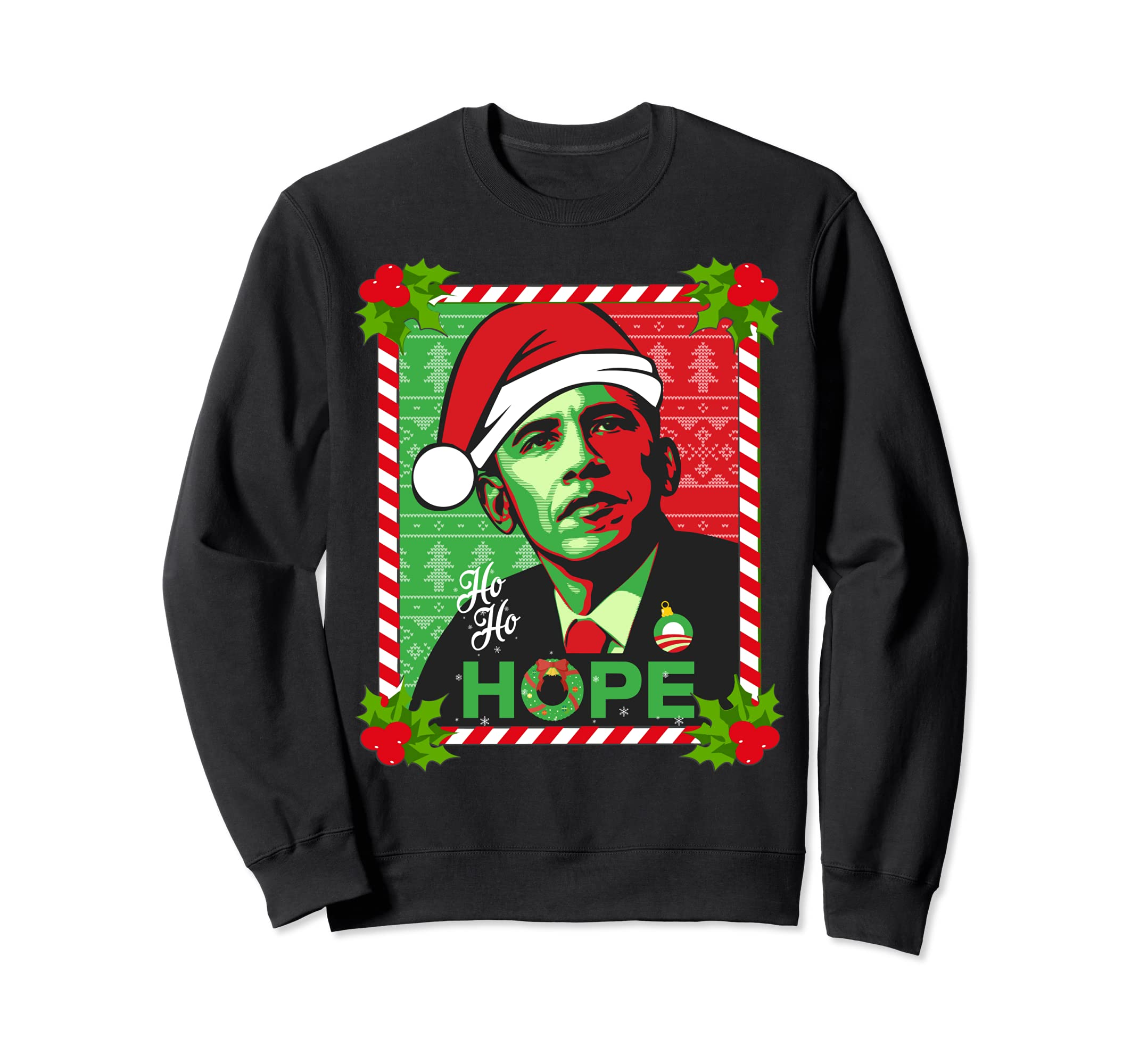 Amazon.com: Obama Hope Christmas Sweater: Clothing