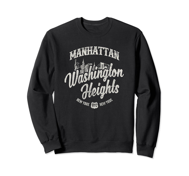 New York Manhattan Washington Heights T Shirt Crewneck Sweater