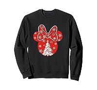 Disney Minnie Tree T Shirt Sweatshirt Black