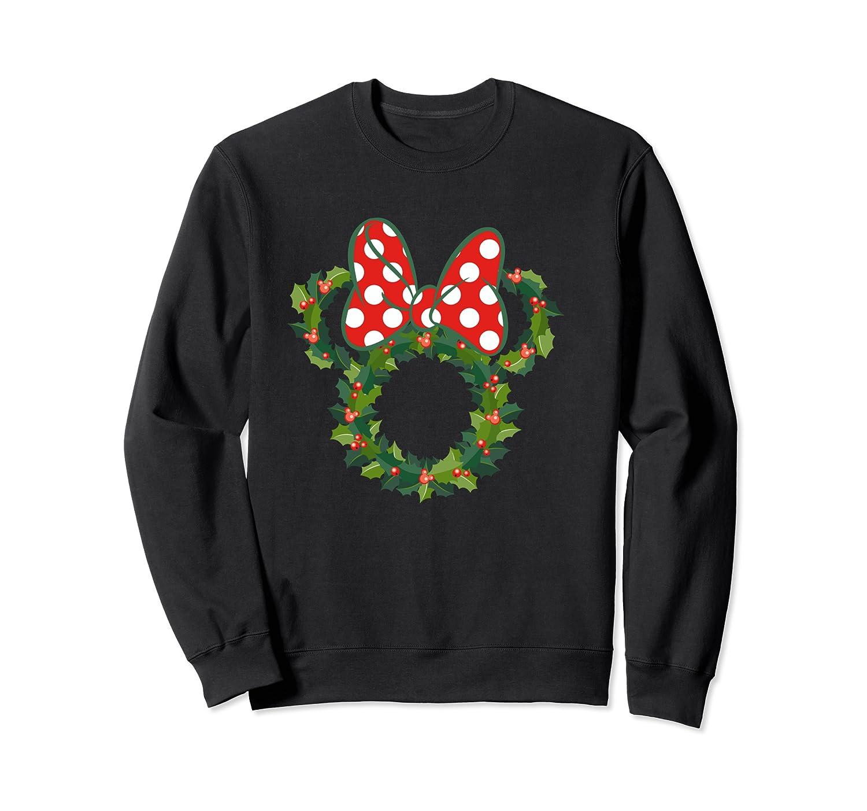 Disney Minnie Wreath T Shirt Crewneck Sweater