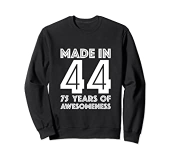 Image Unavailable Not Available For Color 75th Birthday Sweatshirt Grandma 75 Year Old Mom Gifts