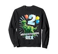 Disney Pixar Toy Story Birthdaysaurus Rex 2nd Birthday T-shirt Sweatshirt Black