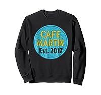 Cafe Martin T-shirt V1.4 Sweatshirt Black