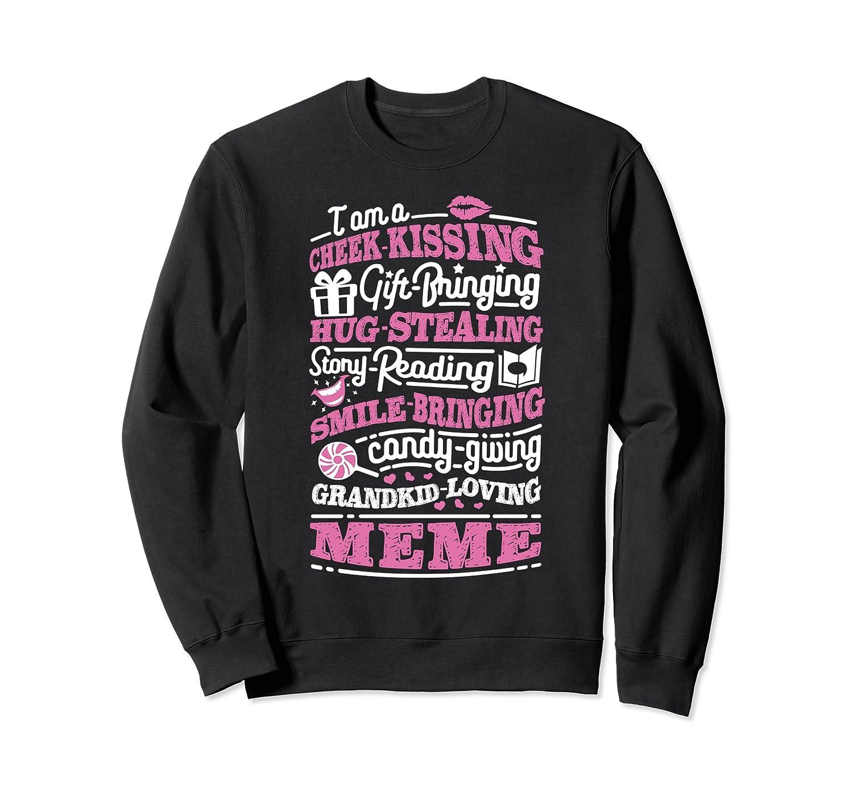 M Gift Bringing Story Reading Meme Mom Grandma Shirts Crewneck Sweater