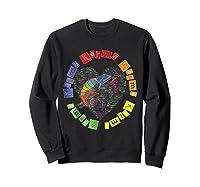 Chameleon Karma 80 S Pride 1980 S Pop Club Culture Peace Shirts Sweatshirt Black
