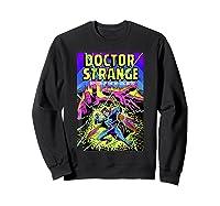 Doctor Strange Mystic Arts Neon Graphic Shirts Sweatshirt Black