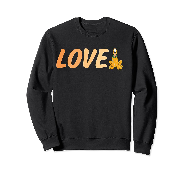 Disney Love Pluto T Shirt Crewneck Sweater