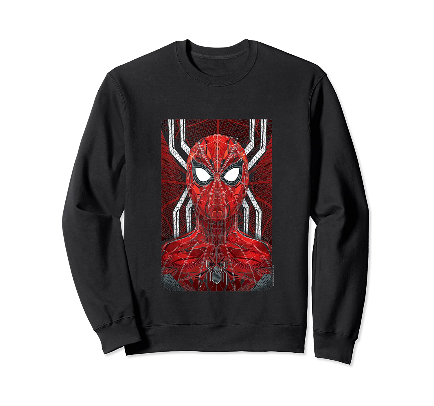 Marvel Spider-man: Far From Home Spidey Tank Top Shirts Crewneck Sweater