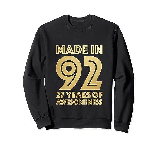 Amazon 27th Birthday Sweatshirt Age 27 Year Old Men Gift Son