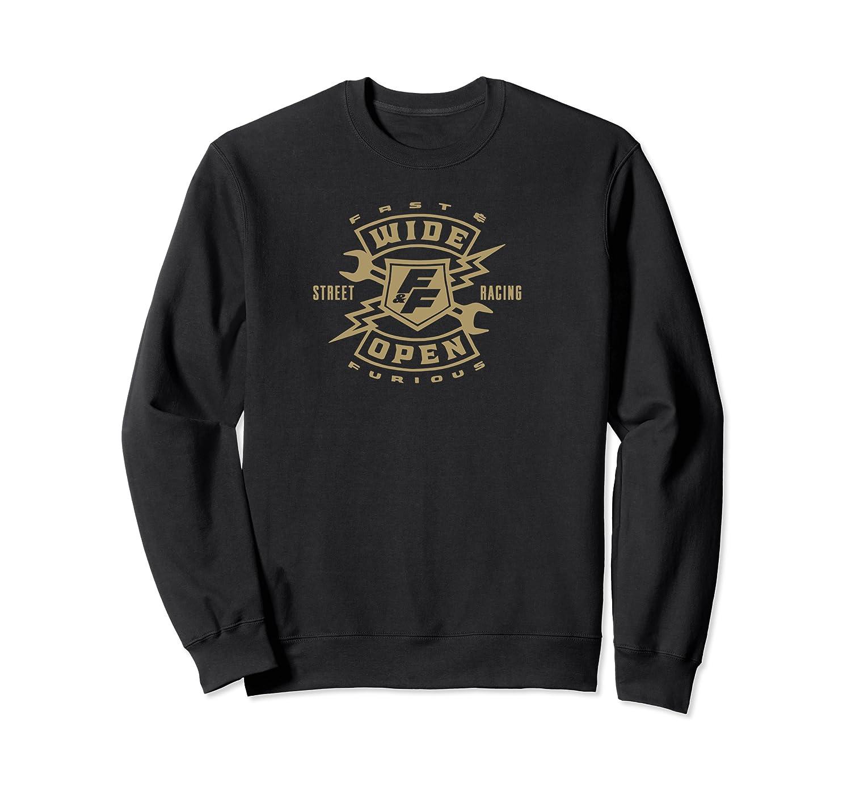 Fast Furious Wide Open Racing Shirts Crewneck Sweater