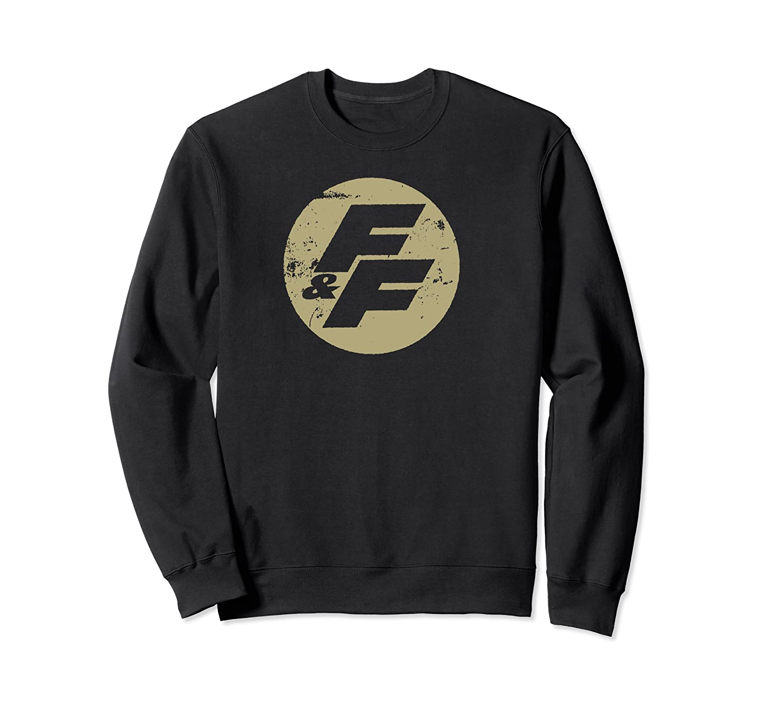 Fast Furious Distressed Beige Logo Ted Shirts Crewneck Sweater