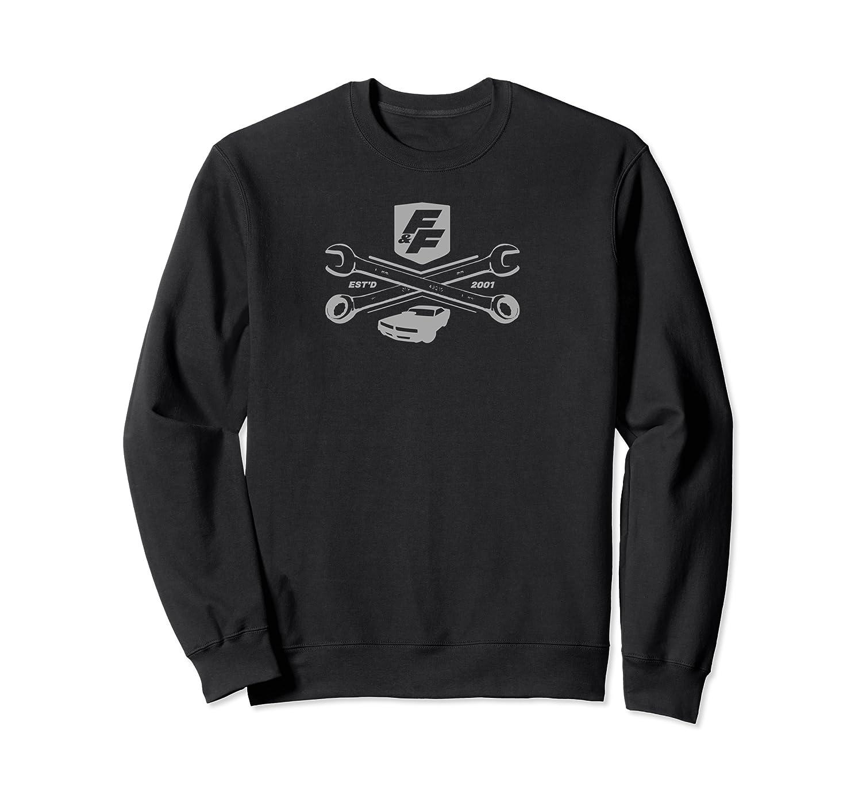 Fast Furious Racing Shield Logo Shirts Crewneck Sweater