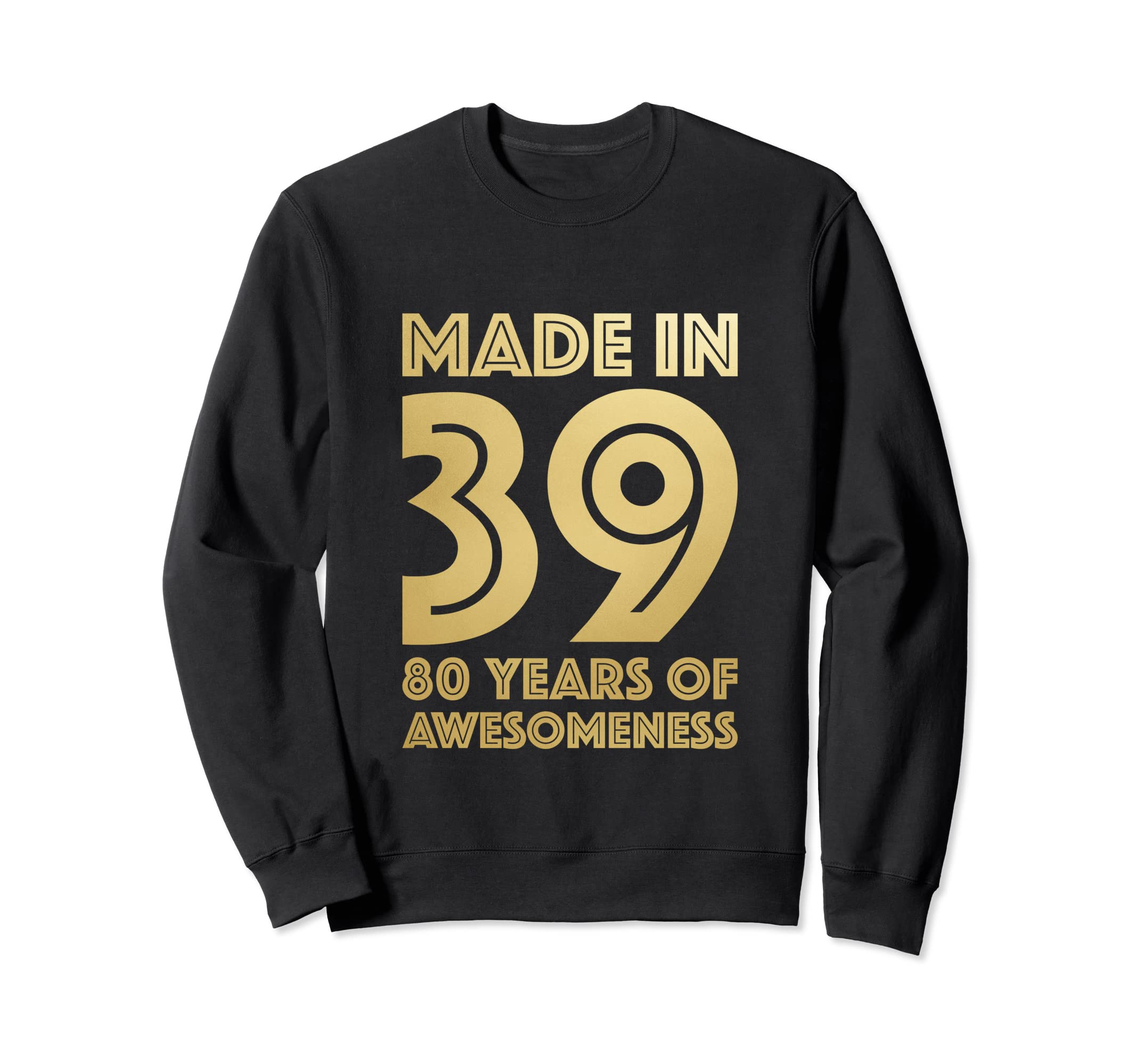 88edd123 Amazon.com: 80th Birthday Sweatshirt Grandma Age 80 Year Old Women Gifts:  Clothing