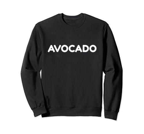 Funny Lazy Halloween Avocado Costume Sweatshirt