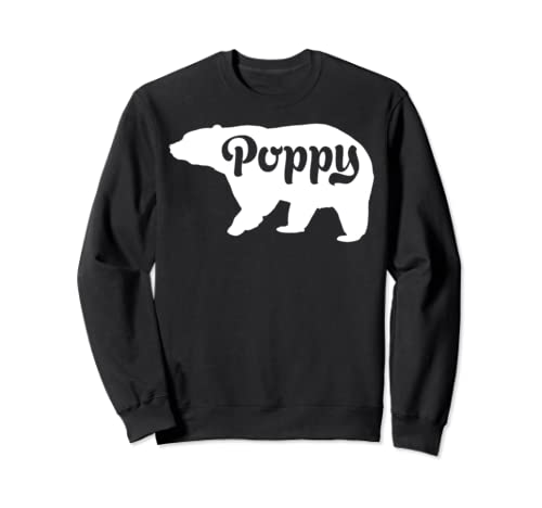 Poppy Bear Shirt - Father's Day 2019 Gifts Sweatshirt