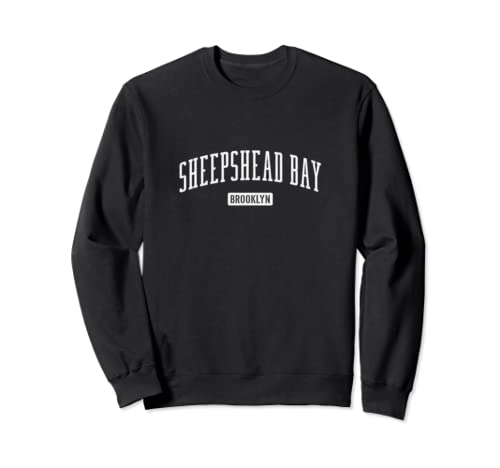 Sheepshead Bay Brooklyn Vintage Retro, Men Women's     Sweatshirt
