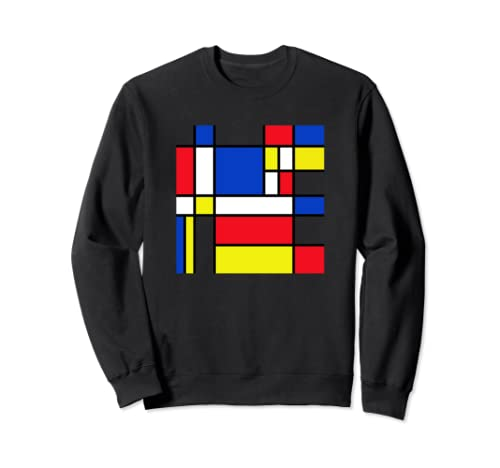 Modernism Primary Colors Red Blue Yellow Cool Sweatshirt