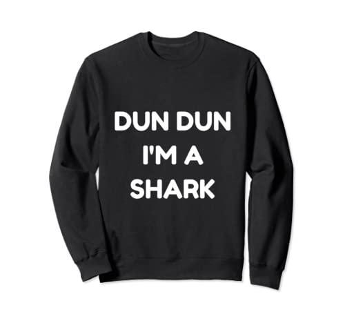 Funny Shark Halloween Party Costume Sweatshirt