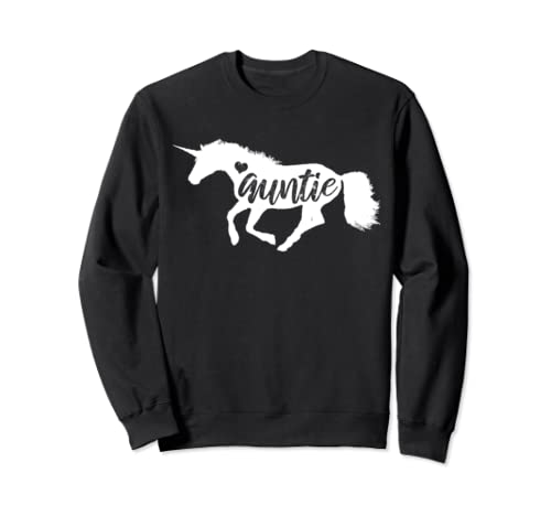 Love Auntie Unicorn Cute Mother's Day Gift For Aunt Sweatshirt
