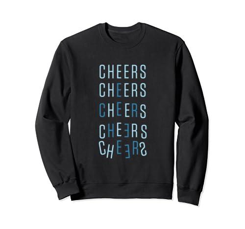 Cheers Christmas Holiday  Sweatshirt