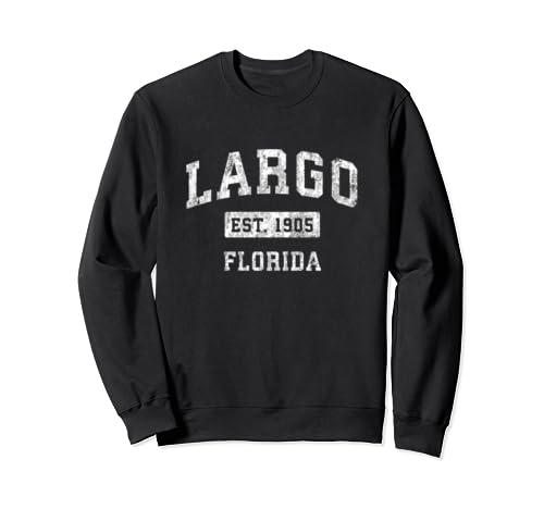 Largo Florida Fl Vintage Established Sports Design Sweatshirt
