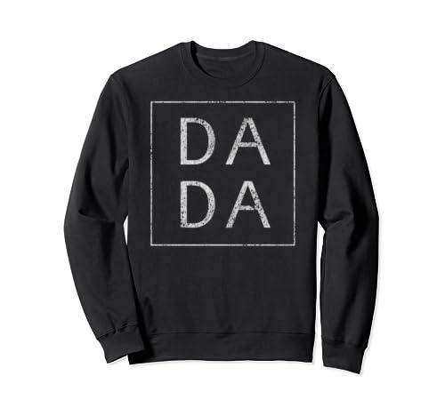 Distressed Dada Funny Retro Father's Day Sweatshirt