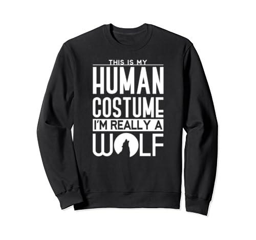 Wolf Halloween Costume Sweatshirt