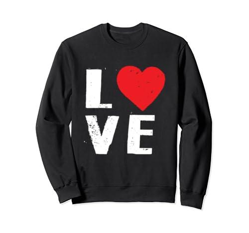 Love Heart Valentines Day SweatShirt