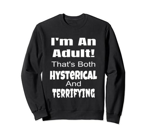 Funny 18th 18 Birthday Gift For Girls Boys Adult Sarcastic Sweatshirt