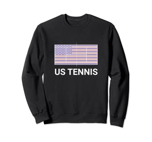 Us Tennis Court Flag 2018 Sweatshirt