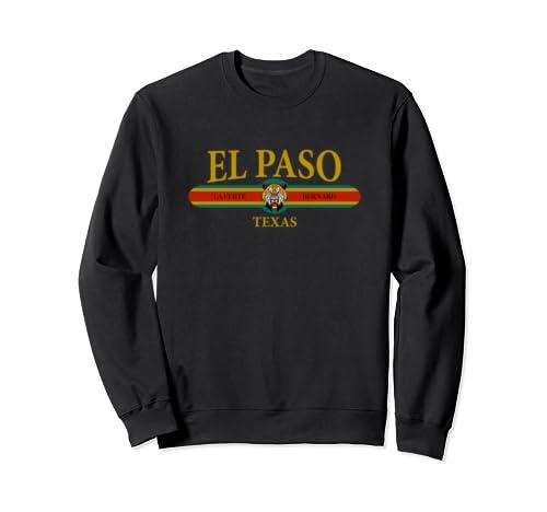 El Paso Texas State Fashion Apparel Vintage City Of El Paso Sweatshirt