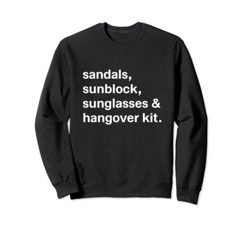 Funny Vacation Gifts Cruise Essentials For Couples Matching Sweatshirt