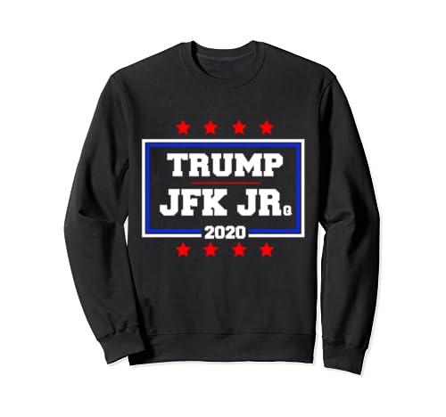 Potus Donald Trump & Jfk Jr 2020 Campaign Sweatshirt