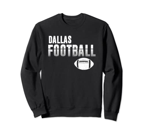 Retro Dallas Texas Football Distressed Pro Football Team Sweatshirt