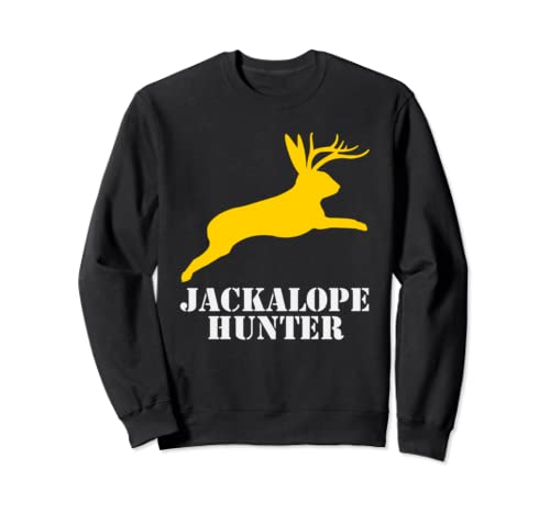 Jackalope Hunter For Mythical Hunting Sweatshirt