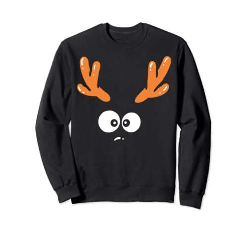 Reindeer Halloween Christmas Costume Sweatshirt