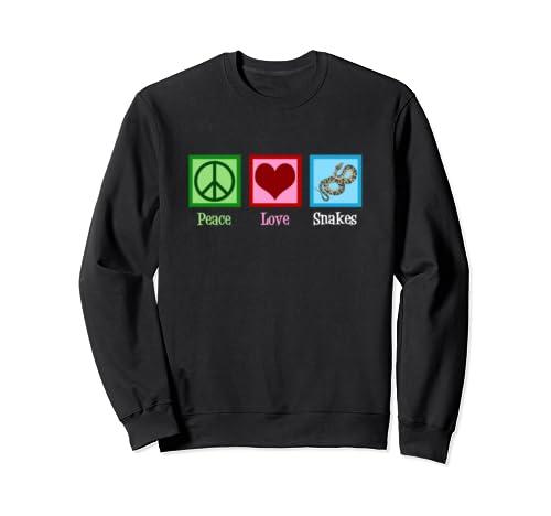 Peace Love Snakes Herpetology Sweatshirt