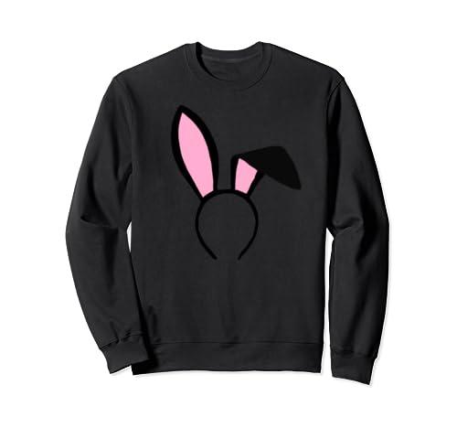 Rabbit Ears Headband Bunny Ears  Sweatshirt