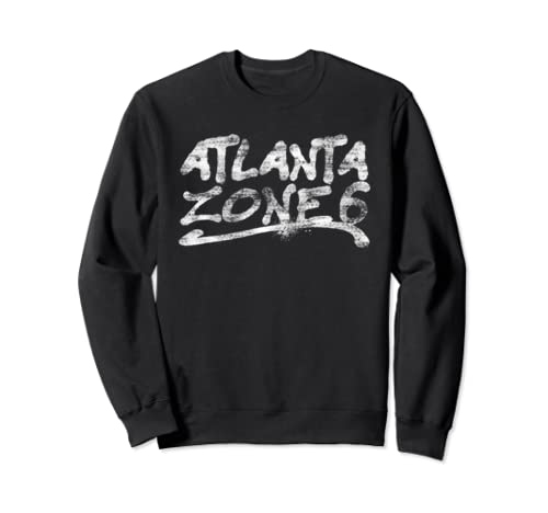Urban Atlanta Zone 6 Rapper Made Gift Sweatshirt