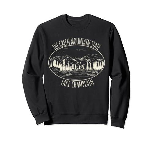 Lake Champlain Nature Product   Green Mountain State Sweatshirt
